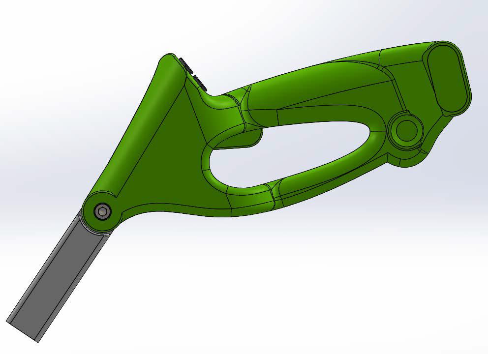 Design et ergonomie de la lance